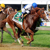 Shackleford making move<br /> Preakness on May 21, 2011, at PImlico in Baltimore, Maryland<br /> Photo by: Dave Harmon