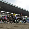 Start of the 144th running of The Belmont Stakes   Photo by Skip Dickstein