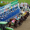 The field for the 144th Running of the Belmont Stakes leave the gate at Belmont Park on June 9, 2012.<br /> Photo by Chad Harmon