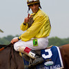 John Velazquez has now won 2 Belmont Stakes.  Belmont Stakes, Belmont Park, 6/9/12.<br /> Photo by Steve Heuertz