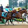 Caption: Union Rags, on rail, with John Velazquez up wins the Belmont Stakes (gr. I) with Paynter and Mike Smith in second.<br /> Belmont Park, June 9, 2012, Elmont, N.Y.<br /> Photo by Anne M. Eberhardt