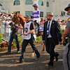 I'll Have Another in the paddock with trainer Doug O'Neill<br /> I'll Have Another with Mario Gutierrez up wins the Kentucky Derby presented by Yum<br /> at Churchill Downs near Louisville, Ky. on May 5, 2012.<br /> Photo by Anne M. Eberhardt
