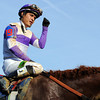 Jockey Mario Gutierrez, gives a thumbs up on his way to the winners' circle, after winning the 138th Kentucky Derby aboard I'll Have Another<br /> © 2012 Rick Samuels/The Blood-Horse