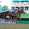 I'll Have Another with Mario Gutierrez up wins the Kentucky Derby presented by Yum<br /> at Churchill Downs near Louisville, Ky. on May 5, 2012.<br /> Photo by Anne M. Eberhardt