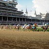 first time by<br /> I'll Have Another with Mario Gutierrez up wins the Kentucky Derby presented by Yum<br /> at Churchill Downs near Louisville, Ky. on May 5, 2012.<br /> Photo by Mallory Haigh