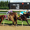 Bodemeister leads the charge down the stretch in Kentucky Derby 138<br /> Photo by Dave Harmon.