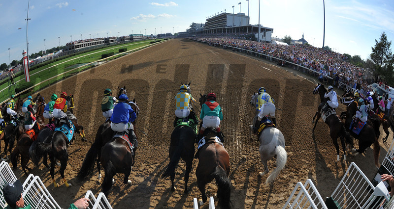 Start of Kentucky Derby 138<br /> Photo by Courtney V. Bearse