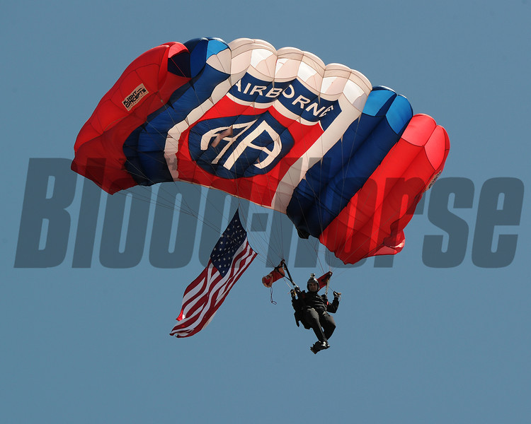 Skydivers ,  Pimlico Race Track, Baltimore, MD 5/19/12, Photo by Mathea Kelley ,