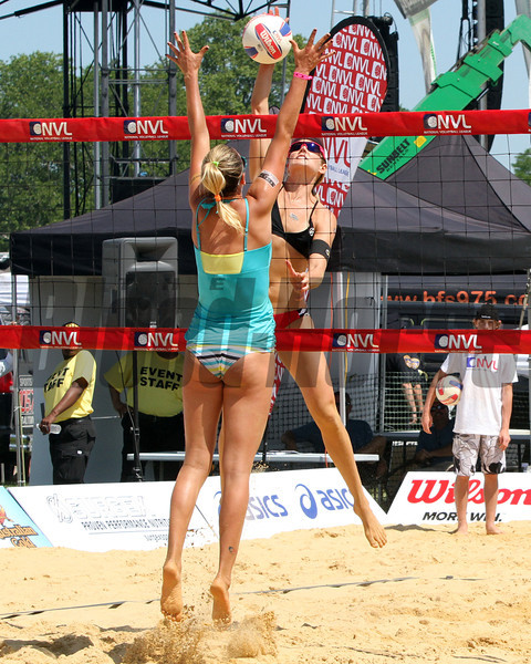 Beach Volleyball at Pimlico Racecourse on May 19, 2012.