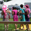 Pink Day, Pimlico Race Track, Baltimore, MD 5/19/12, Photo by Mathea Kelley