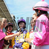 Ladies Jockey Challenge, Pimlico Race Track, Baltimore, MD 5/18/12, Photo by Mathea Kelley