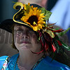 A racing patron on Preakness Day at Pimlico Race Course in Baltimore, MD May 19, 2012.  Photo by Skip Dickstein