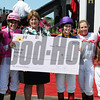 Rosie Napravink up wins the Female Jockey Challenge ,Pimlico Race Track, Baltimore, MD 5/18/12, Photo by Mathea Kelley