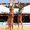Beach Volleyball in the infield at Pimlico Racecourse on May 19, 2012.