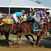 I'll Have Another, Mario Gutierrez up, gets up at the wire to beat Bodemeister, and win the 137th Preakness Stakes at Pimlico<br /> © 2012 Rick Samuels/The Blood-Horse