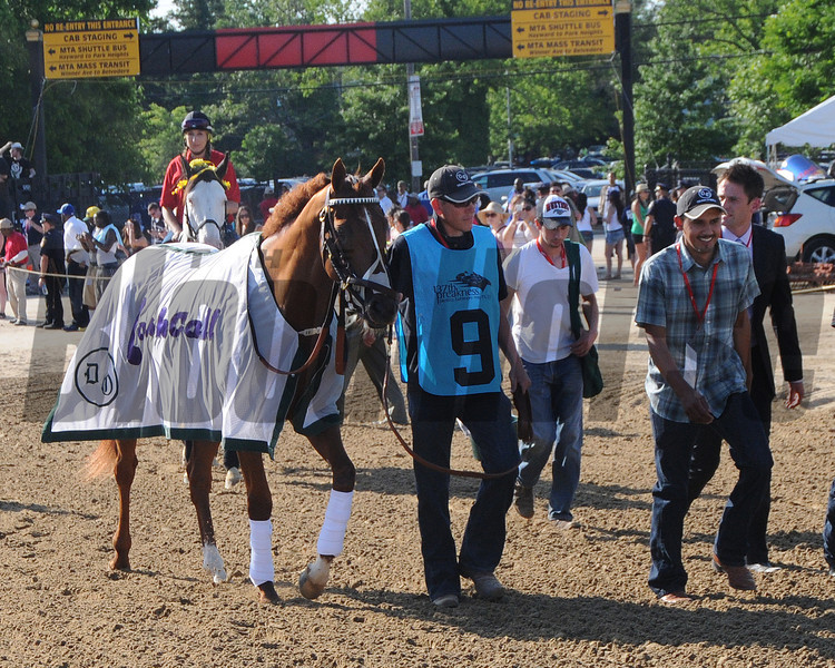 I'll Have Another, Mario Gutierrez up, wins the Preakness Stakes ,  Pimlico Race Track, Baltimore, MD 5/19/12, Photo by Mathea Kelley , Start