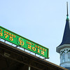 Twin Spire on Derby Day...<br /> © 2012 Rick Samuels/The Blood-Horse