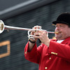 The bugler Churchill Downs on Derby Day May 5, 2012.  Photo by Skip Dickstein.