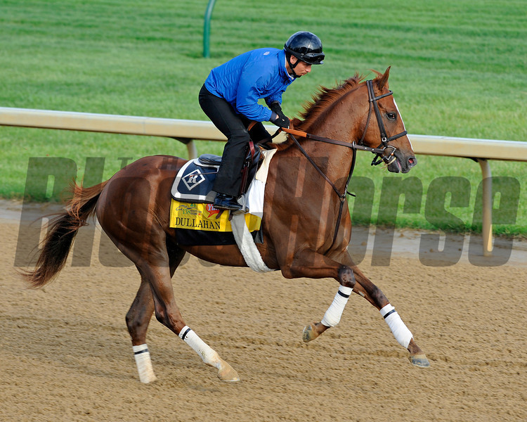 Dullahan<br /> Kentucky Derby and Kentucky Oaks contenders on the track at Churchill Downs near Louisville, Ky. on April 30, 2012.<br /> Photo by Anne M. Eberhardt