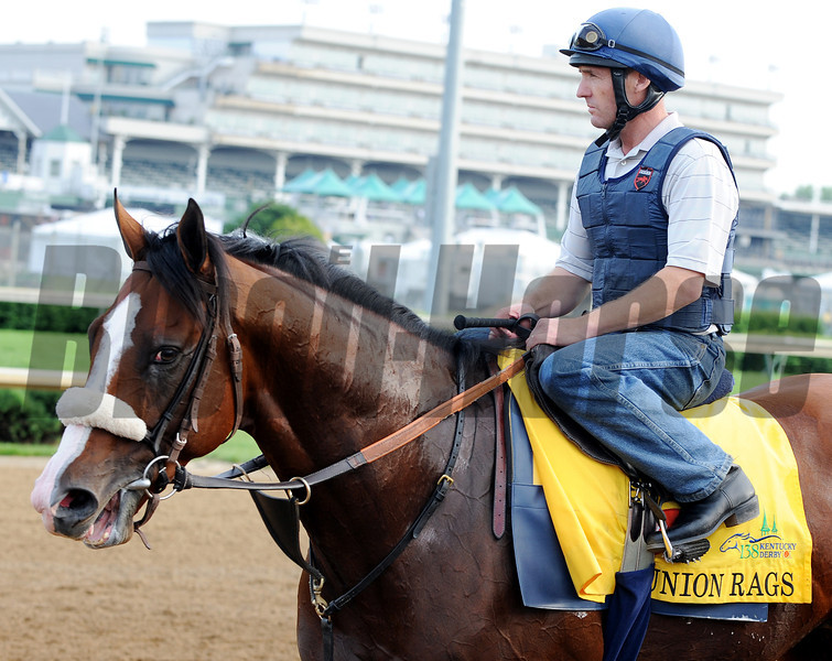 Union Rags - Churchill Downs May 3, 2012.<br /> Photo by Dave Harmon