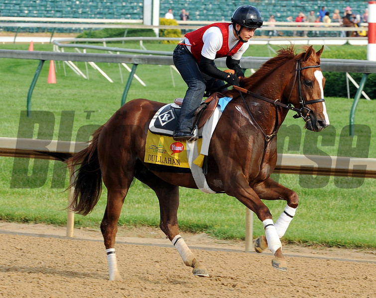 Dullahan - Churchill Downs, May 3, 2012.<br /> Photo by Dave Harmon