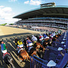 Start of the 2013 Belmont Stakes...<br /> Coglianese Photos