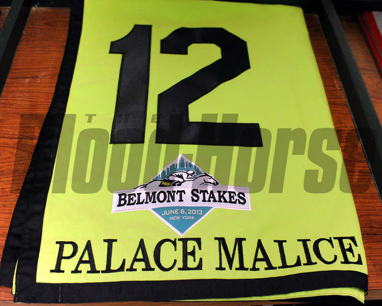 Palace Malice wins the 2013 Belmont Stakes.<br /> Dave Harmon