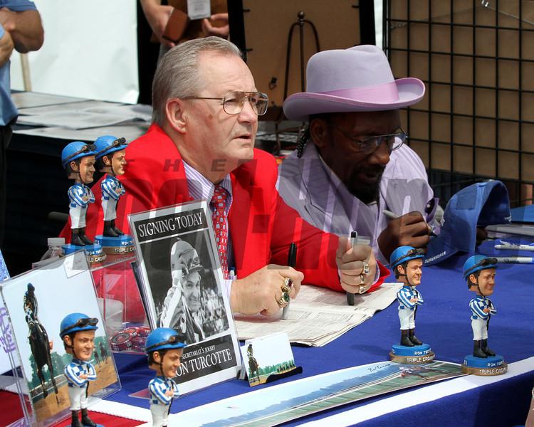 Ron Turcotte & Charlie Davis Belmont Scenes Chad B. Harmon
