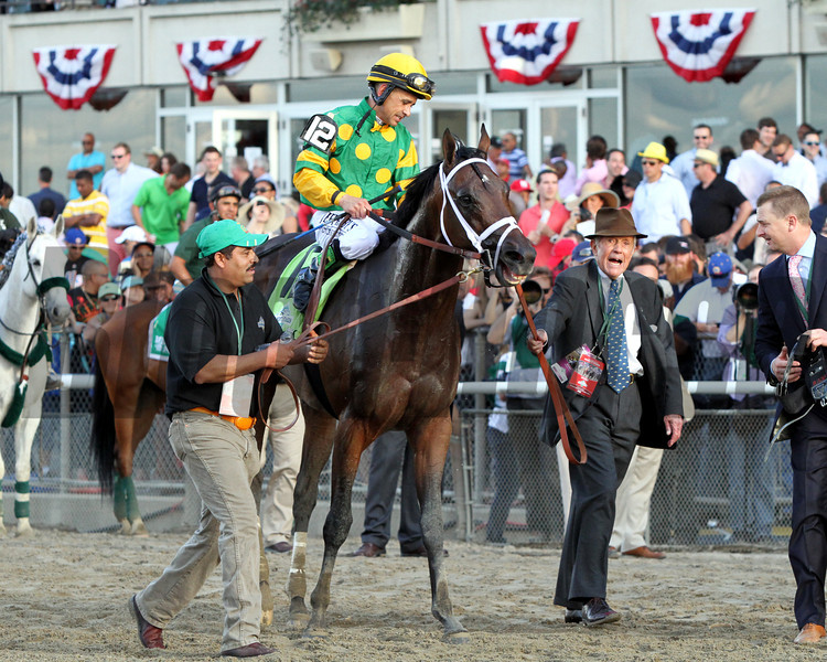 Cot Campbell Palice Malice Belmont Stakes Chad B. Harmon