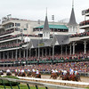 Kentucky Derby Stretch