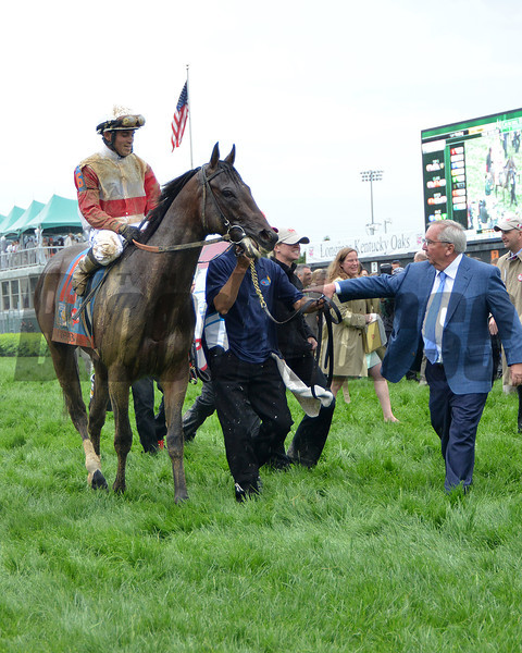 Orb, Joel Rosario up, wins the Kentucky Derby 2013 Churchill Downs, Louisville, KY photo by Mathea Kelley
