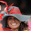 Oaks Day Scenes, Hats, 2013 Churchill Downs, Louisville, KY photo by Mathea Kelley