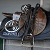 Caption:  training tack at the Doug O'Neill barn at Churchill<br /> works and scenes at Churchill Downs near Louisville, Ky. on April 28, 2013, during Kentucky Derby and Kentucky Oaks week.<br /> 3Works4_28_13 image644<br /> Photo by Anne M. Eberhardt