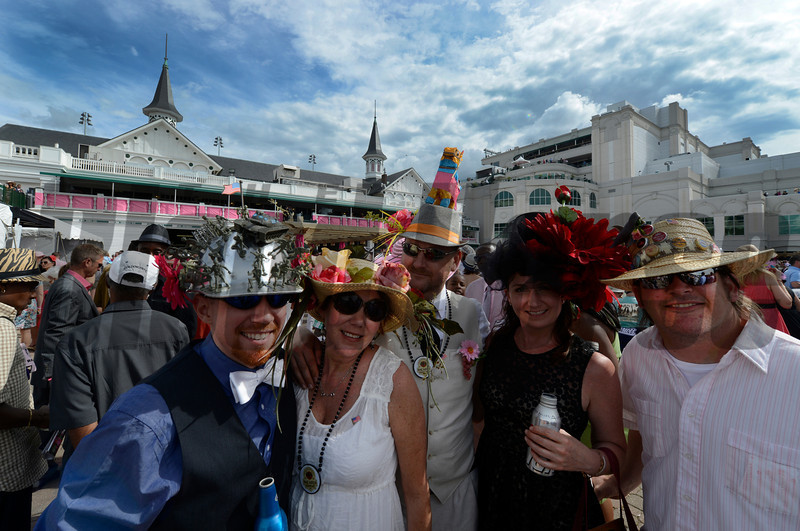 Oaks Day May 3, 2013.  Photo by Skip Dickstein