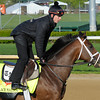 Caption: Palace Malice<br /> works and scenes at Churchill Downs near Louisville, Ky. on April 26, 2013, during Kentucky Derby and Kentucky Oaks week.<br /> 1Works4_26_13 image899<br /> Photo by Anne M. Eberhardt