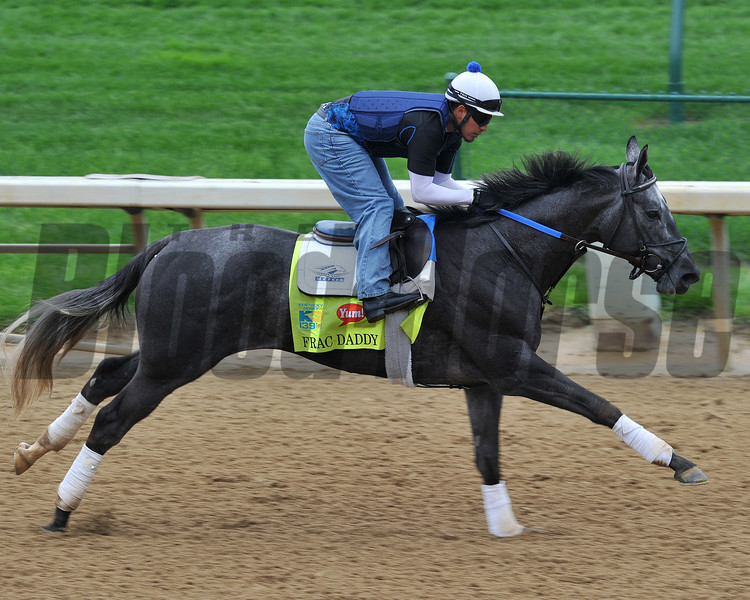 Frac Daddy, Kentucky Derby 2013<br /> Churchill Downs, Louisville KY, photo by Mathea Kelley, 4/29/13