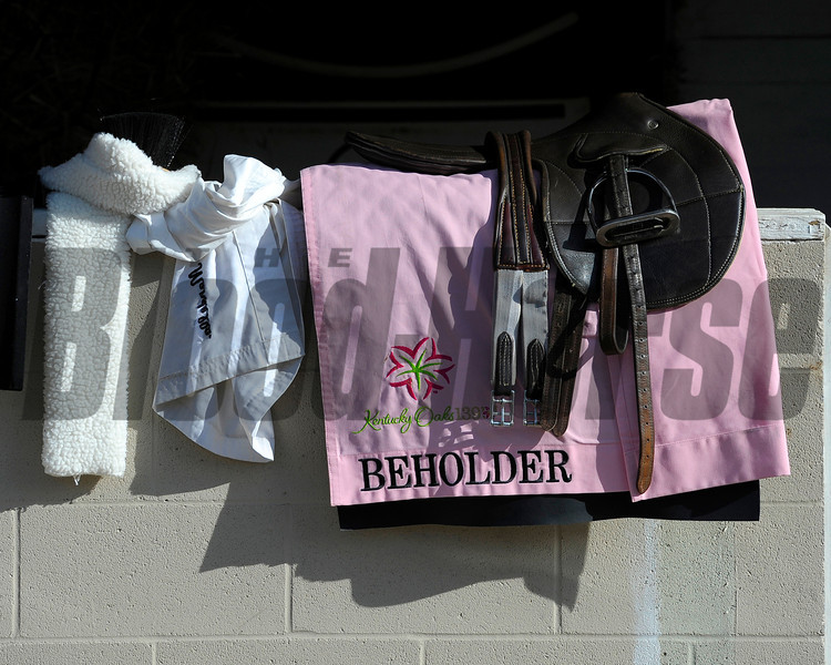 Caption:  Beholder<br /> works and scenes at Churchill Downs near Louisville, Ky. on May 2, 2013, during Kentucky Derby and Kentucky Oaks week.<br /> 1Works5_2_13 image947<br /> Photo by Anne M. Eberhardt