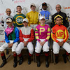 The jockey that competed in the 138th running of the Preakness Stakes at Pimlico in Baltimore, Maryland May 18, 2013.  Photo by Skip Dickstein