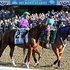 California Chrome Belmont Stakes Post Parade Chad B. Harmon
