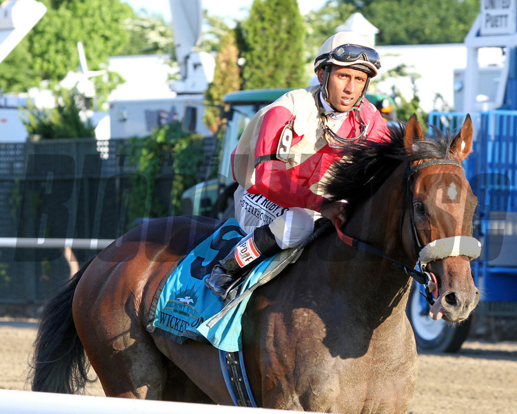 Wicked Strong Rajiv Maragh Belmont Stakes Chad B. Harmon