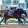 Caption: Tonalist with Joel Rosario <br /> wins the Belmont Stakes (gr. I) on June 7, 2014, at Belmont Park in Elmont, N.Y.<br /> 11-Belmont1 image<br /> Photo by Anne M. Eberhardt
