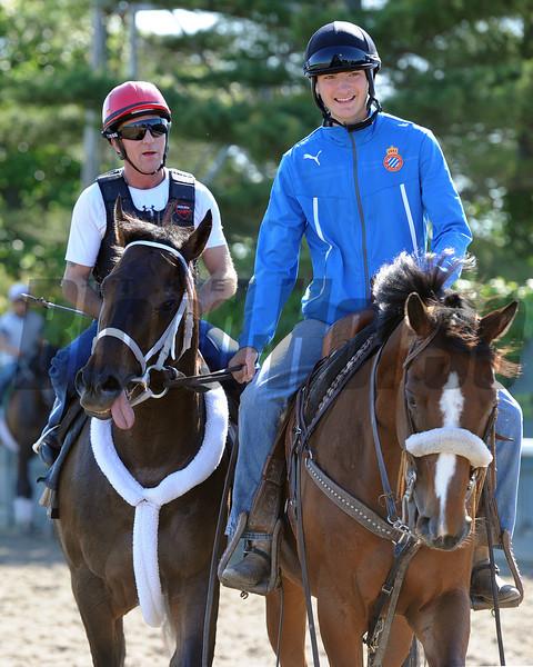 Ride On Curlin at Belmont Park 6/1/2014<br /> Coglianese Photos/Susie Raisher