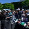 Caption: long lines to purchase merchandise<br /> Belmont Stakes day on June 7, 2014, at Belmont Park in Elmont, N.Y.<br /> BelmontAM1 image874<br /> Photo by Anne M. Eberhardt