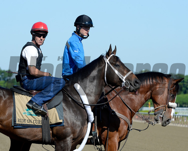 Caption: Ride On Curlin<br /> Belmont and undercard works on June 1, 2014, at Belmont Park in Elmont, N.Y.<br /> SunOrigs1   image472<br /> Photo by Anne M. Eberhardt