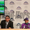 Caption: trainer Alan Sherman and Victor Espinoza<br /> wins the Belmont Stakes (gr. I) on June 7, 2014, at Belmont Park in Elmont, N.Y.<br /> 11-Belmont3 image164<br /> Photo by Ashton Harrewyn