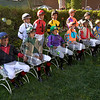 The jockey's that appeared in the Belmont Stakes June7, 2014 at Belmont Park.  Photo by Skip Dickstein