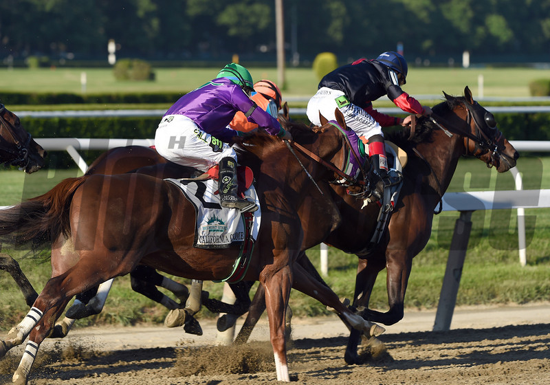 Tonalist wins the 2014 Belmont Stakes<br /> Jeffrey Snyder Photo