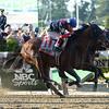 Tonalist wins the Belmont Stakes at Belmont Park June 7.<br /> Coglianese Photos