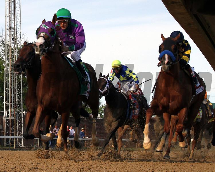California Chrome Final Turn Remote Churchill Downs Kentucky Derby Chad B. Harmon