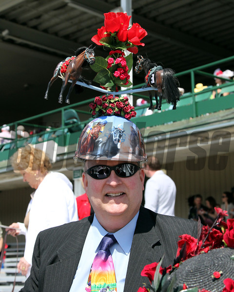 Derby Hat Churchill Downs Chad B. Harmon